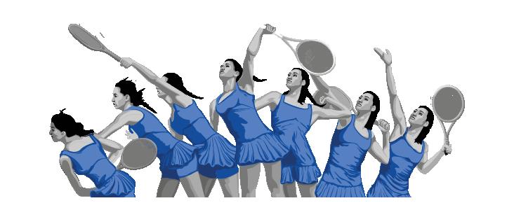 tennis logo bg